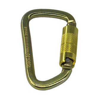 Wholesale 30 KN ANSI Standard Steel Rock Climbing Carabiner With Factory Price