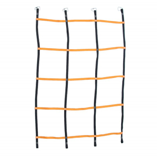 UV Resistance High Strength Polyester Colorful Webbing Children Climbing Cargo Net for Sale