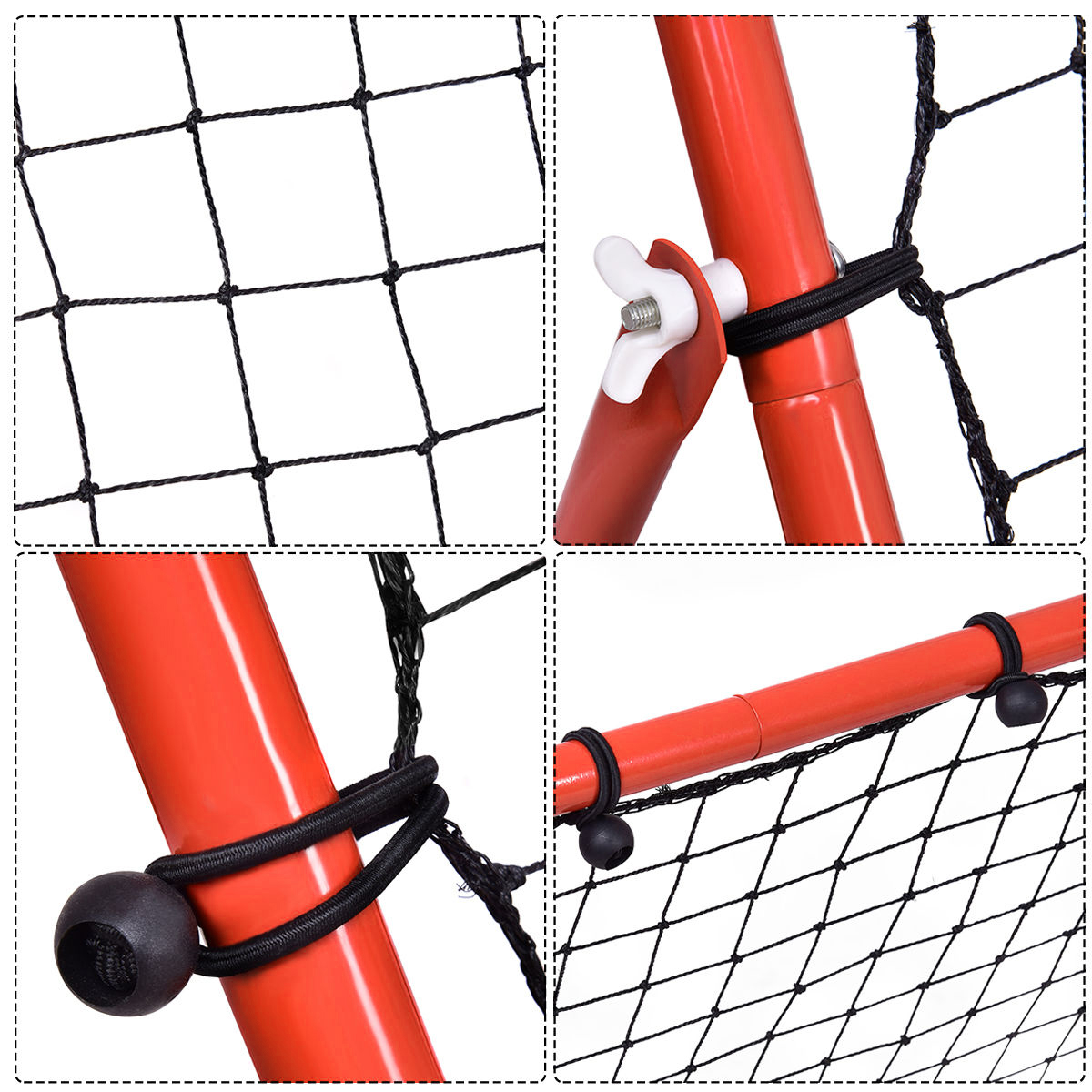 High Quality Hot Sale Adjustable Soccer Football Rebounder Net For Kids